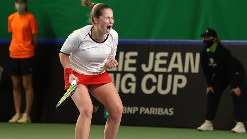Jelena Ostapenko nella foto