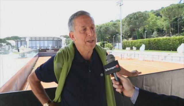 Sergio Palmieri è il Direttore del torneo di Roma e delle Next Gen di Milano