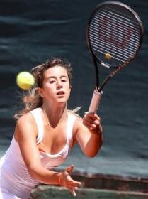 Francesca Palmigiano, 19 anni, ha superato le qualificazioni - Foto Felice Calabrò