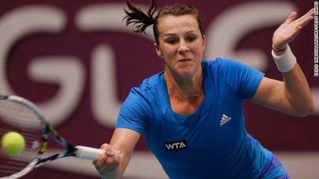 Anastasia Pavlyuchenkova nella foto