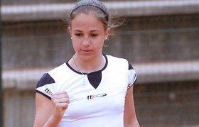 Giulia Pairone al secondo turno nel torneo di Bagnatica