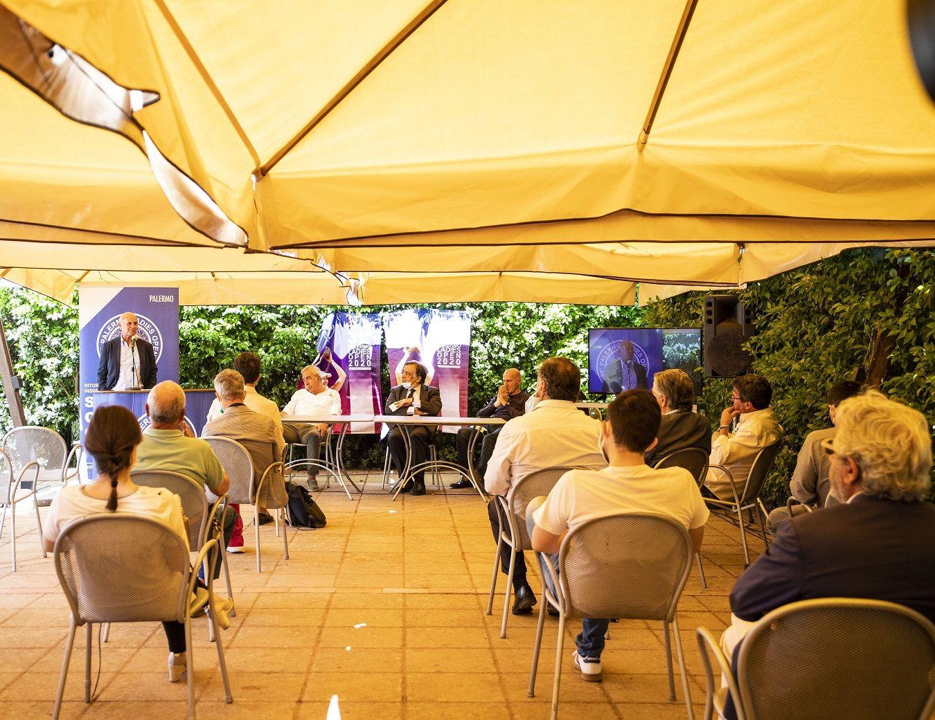 La conferenza stampa dal torneo WTA di Palermo: Rimane un torneo International ma si punta ad avere almeno due top ten in campo