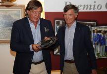 Cortina Premia Adriano Panatta. Suo il 3° Premio Cimurri