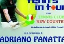 Tennis In Tour con Adriano Panatta Al New Country Frascati