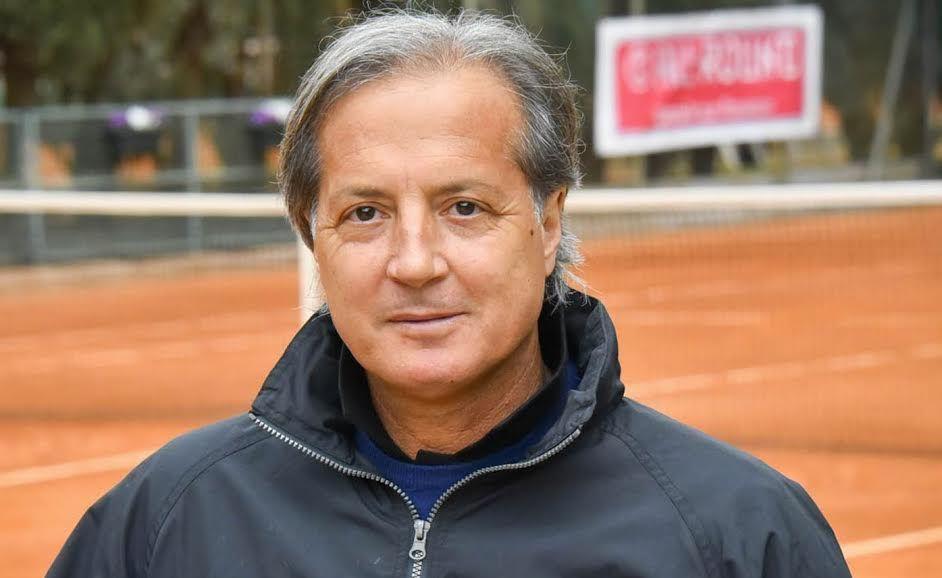 Il direttore del torneo Claudio Panatta (ex Top-50 Atp) - Foto Roberto Di Tondo