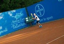 Sfortunato episodio per il giovane Luca Pancaldi. L'azzurro a soli due punti dalla vittoria si ritira per un problema alla schiena