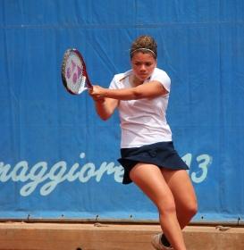 Jasmine Paolini, toscana classe 1996, n.703 WTA (Calabrò Foto)