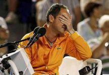 """Pascal Maria: """" Sono stato 'costretto' ad attenermi al regolamento.  Solo in Davis sarebbe stato possibile far ripetere il match point dopo il doppio fallo di Djokovic causato parzialmente dal pubblico"""""""