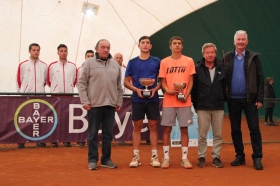 Francesco Passaro e Flavio Cobolli, finalisti della scorsa edizione