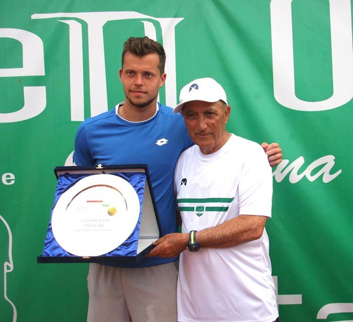 Pancho Ezio Di Matteo , Adam Pavaslek vincitore del torneo