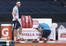 Lo sfortunato ritiro di Guido Pella alle Challenger Tour Finals (Video)