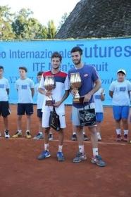 Andrea Pellegrino vince a Casinalbo il primo future in carriera
