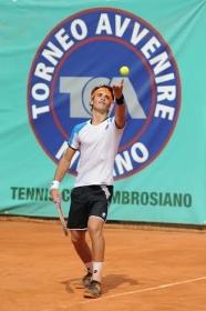 L'azzurro Andrea Pellegrino, vincitore della 49° edizione del Torneo Avvenire - (Foto Francesco Panunzio)