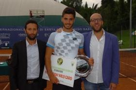 <strong>A distanza di 8 anni dal successo di Matteo Trevisan il torneo di Santa Croce torna a tingersi di azzurro grazie ad Andrea Pellegrino.</strong>