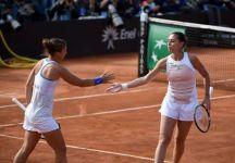 Fed Cup: Italia b. Usa 3 a 2. Flavia Pennetta e Sara Errani in 57 minuti dominano Serena Williams ed Alison Riske. Il prossimo anno le azzurre giocheranno sempre nel World Group