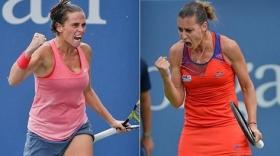 Due giocatrici in semifinale Slam. Prima volta per il tennis italiano