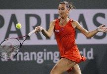 WTA Miami: Delusione per Flavia Pennetta. L'azzurra perde al tiebreak del terzo set contro la giovane spagnola Muguruza Blanco