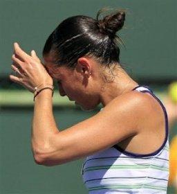Flavia Pennetta sconfitta in doppio