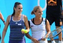 WTA s'Hertogenbosch: Flavia Pennetta sconfitta in finale in doppio