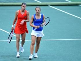 Flavia Pennetta e Sara Errani nella foto