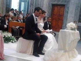 Oggi alle ore 17:43 Fabio Fognini e Flavia Pennetta si sono sposati