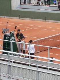 Flavia Pennetta ieri si è allenata con Ana Ivanovic
