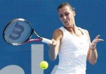 WTA Sydney: Flavia Pennetta a sorpresa si ferma ai quarti di finale