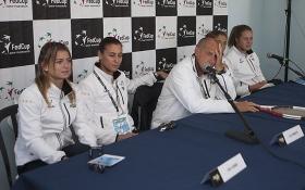 La squadra italiana di Fed Cup - Foto Costantini