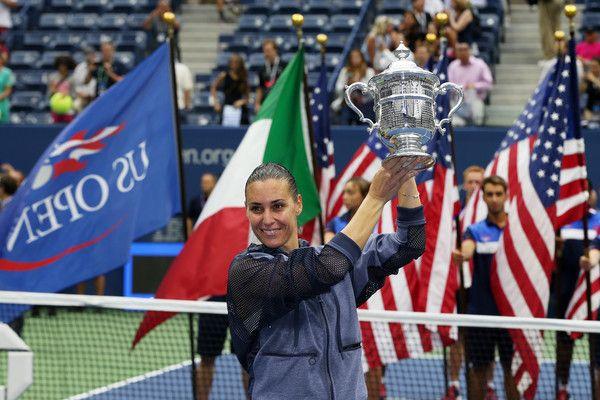 Flavia Pennetta classe 1982 ha vinto gli Us Open nel 2015