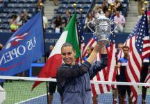 """Eurosport trasmetterà """"My New York Dream"""", emozionante documentario dedicato alla vincitrice degli US Open 2015 Flavia Pennetta"""