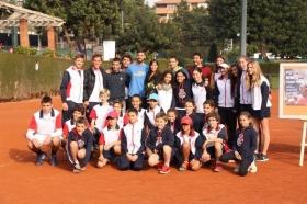 Flavia Pennetta omaggiata dal Real Tennis Club di Barcellona