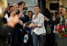 """Flavia Pennetta su Roger Federer: """"Sarebbe potuta essere la migliore o la peggiore settimana della sua carriera, perché in caso di sconfitta avrebbe perso una opportunità unica"""""""