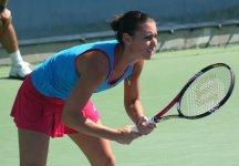 WTA New Haven: Pessimo esordio di Pennetta. L'azzurra conduceva per 5-2 nel primo set prima di subire una clamorosa rimonta dalla Zakopalova