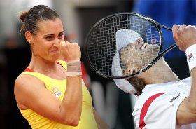Flavia Pennetta e Andreas Seppi alla caccia dei quarti di finale a Roma