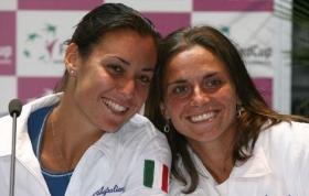 Flavia Pennetta e Roberta Vinci. Gli scontri diretti sono in parità: 4 vittorie per parte.
