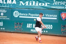 Christian Perinti, classe 1994, n.62 del ranking Under 18