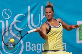 Conny Perrin, svizzera classe 1990, tornerà al Tennis Club Bagnatica dopo il successo dell'edizione 2014 - Foto GAME