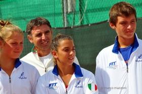 Intervista a Stefano Pescosolido, capitano del team azzurro alla 6 Nations Tennis Cup disputata nei giorni scorsi alle Pleiadi di Moncalieri - Foto Marco Mazzoni