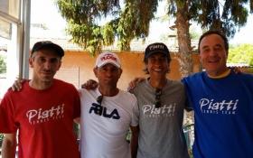 Maurizio Massaccesi, Massimo Sartori, Danilo Pizzorno e Riccardo Piatti