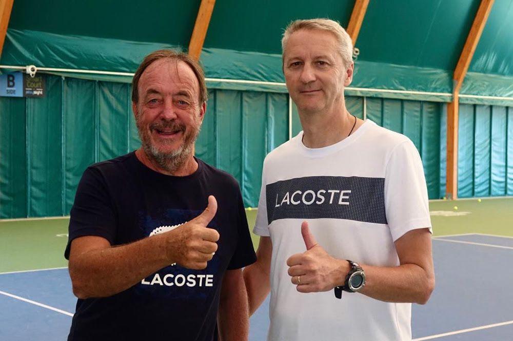 """Riccardo Piatti (sinistra) e Luigi Bertino sono le """"menti"""" del nuovo modello organizzativo del Piatti Tennis Center, che verrà inaugurato nel mese di settembre"""
