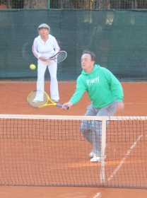 Riccardo Piatti è il coach di Milos Raonic