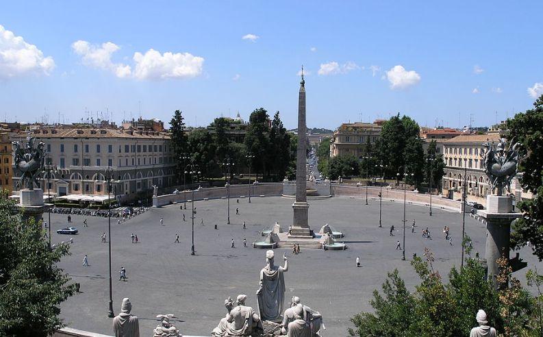 Niente tennis a Piazza del Popolo