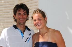 Francesco Piccari e Karin Knapp