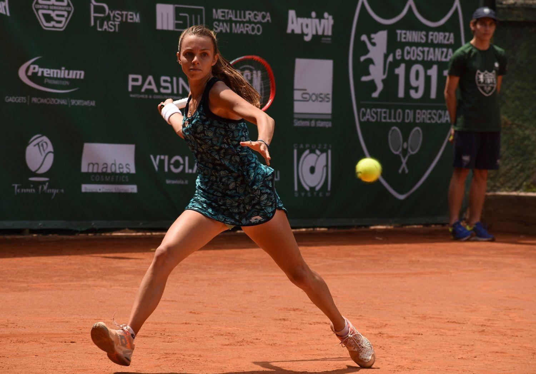 Jessica Pieri, 21 anni di Lucca, ha superato l'ucraina Poznikhirenko - Foto Game