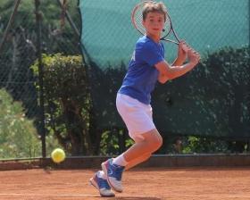 L'azzurro Samuele Pieri, uno dei trascinatori dell'Italia in questa Nation Cup - (foto Frame Project)