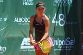 Lisa Pigato, bergamasca classe 2003, è in finale al Trofeo Città di Crema: battuta Laura Tomic per 6-4 6-3