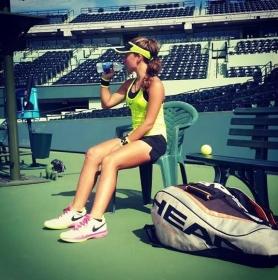 Lisa Pigato si trova in Florida per disputare il 56° Orange Bowl. Qui, da suo profilo Instagram, in campo a Key Biscayne dove ha primeggiato nella categoria Under 14