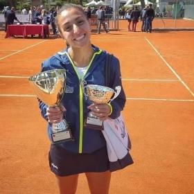 Natasha Piludu classe 1995, n.831 WTA