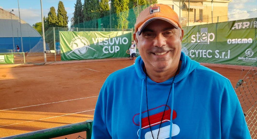 Claudio Pistolesi nella foto