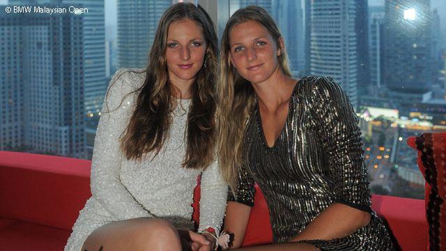 Kristyna Pliskova e la sorella Karolina